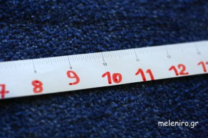 Copy numbers in measuring tape