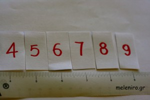 Numbers in order