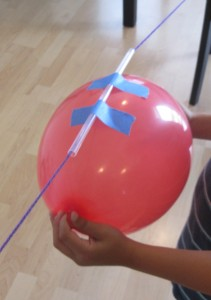 balloon rocket