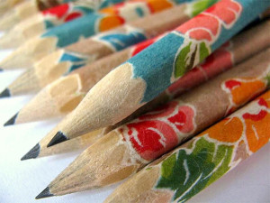 hand-wrapped-japanese-paper-pencils