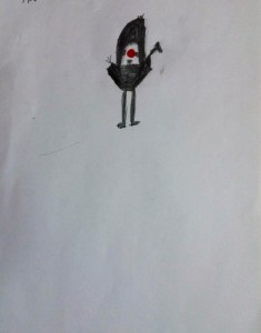 Κόκκινη μπαλίτσα 1